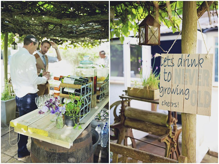 43 Rustic Garden Party Wedding By Candid Frank Photography