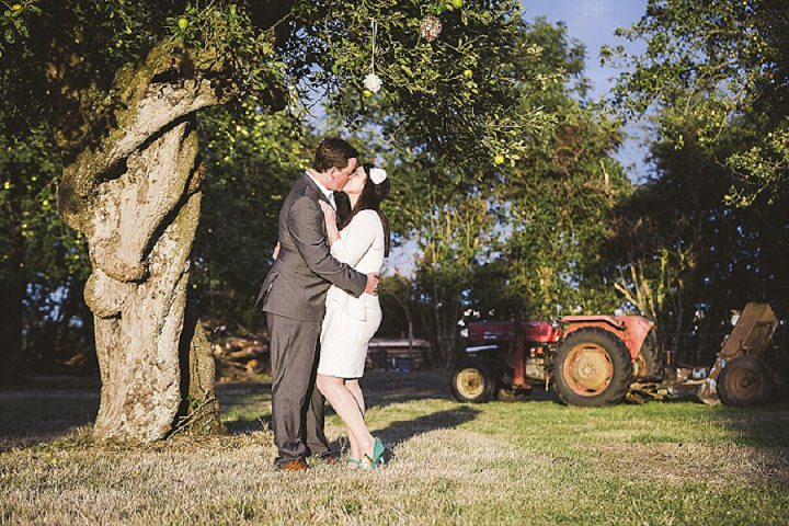 48 Homemade Orchard Wedding by How Photography