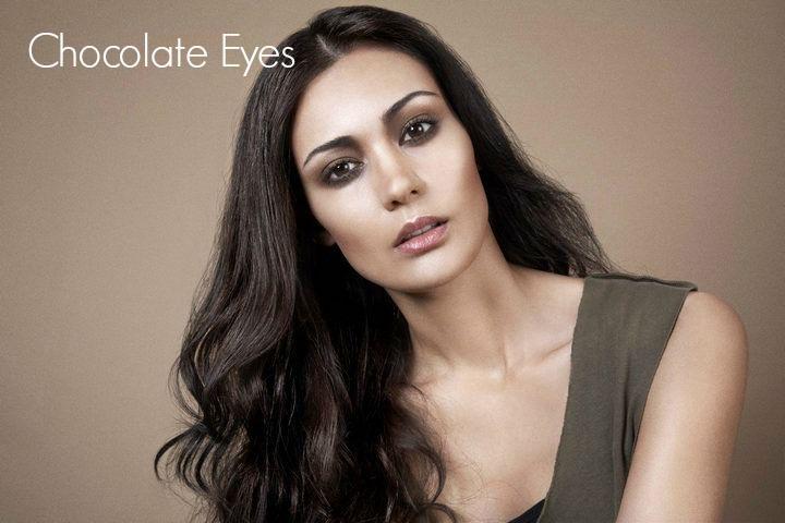 8 10 minute make up - Chocolate eyes
