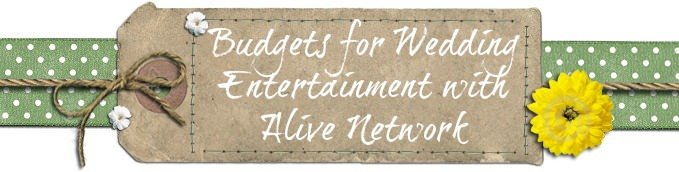 Budgets for Wedding Entertainment