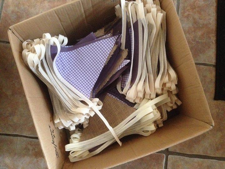 box of bunting