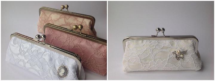 Katey & Josephine's new lace brida bags