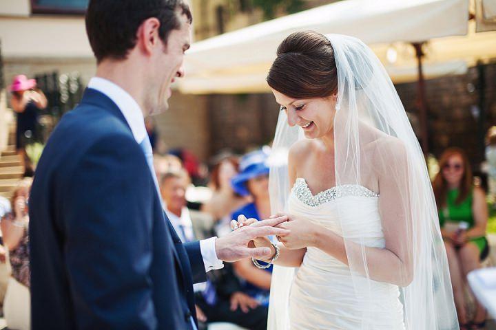 24 Shabby Chic Italian Wedding by Happy Wedding Films