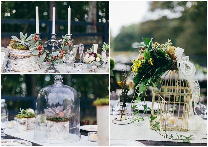 Eclectic Wedding Reception Inspired By Nature And Art Deco