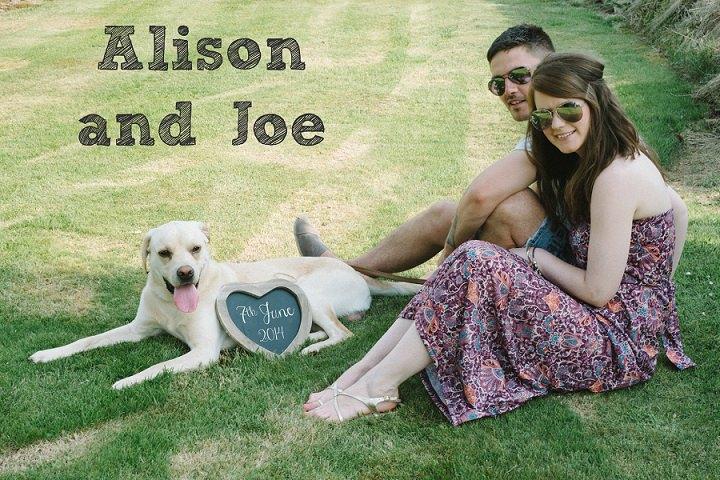 Joe and Alison