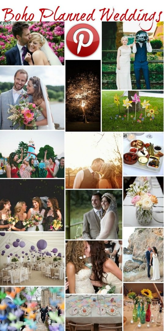 Boho Pins: Boho Planned Weddings
