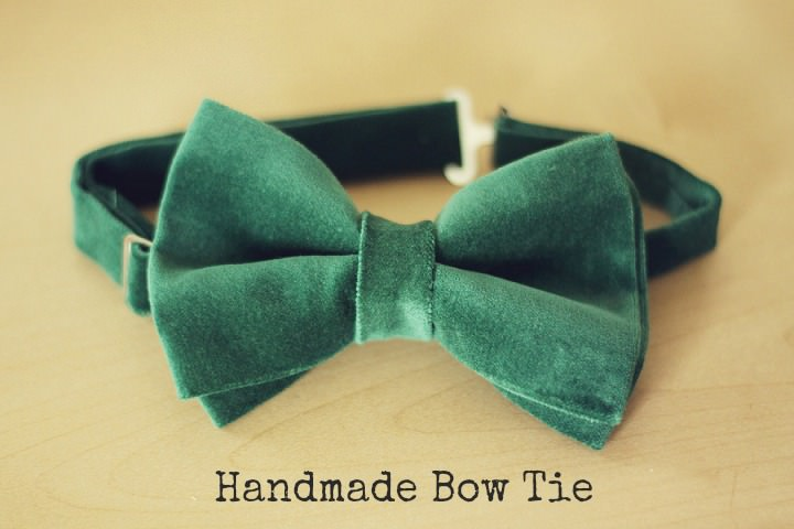 DIY Tutorial Handmade Bow Tie