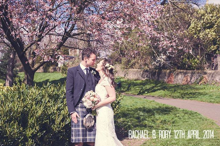 Rachael & Rory's Lacy, Floral Dundee Wedding. By Green Wedding Photography