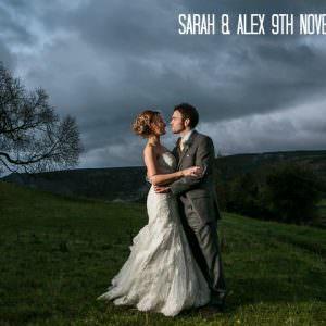 1 Sarah & Alex's Autumnal, Rustic Yorkshire Wedding. By Mark Tierney