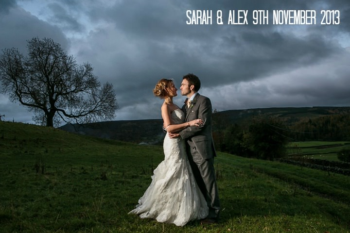 1 Sarah & Alex's Autumnal, Rustic Yorkshire Wedding. By Mark Tierney