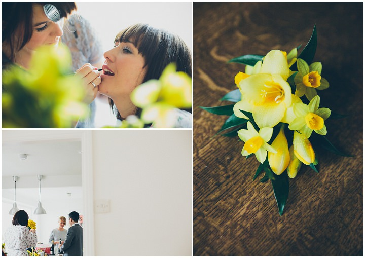 10 Daffodil Filled Wedding By Red on Blonde Photography