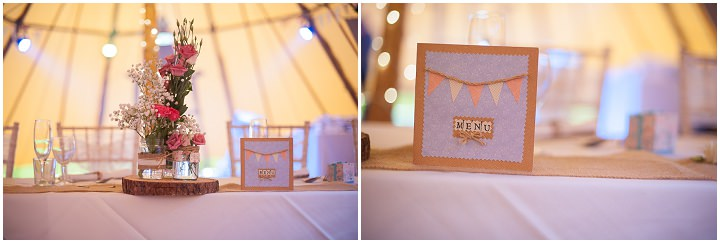 10 Nicola & Harry's Vintage Tipi Wedding. By SDS Photography