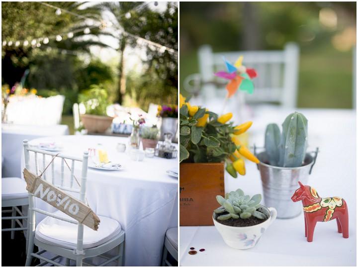 11 Ana & Prindy's Eccentric, Colourful, Ibiza Wedding. By Gypsy Westwood
