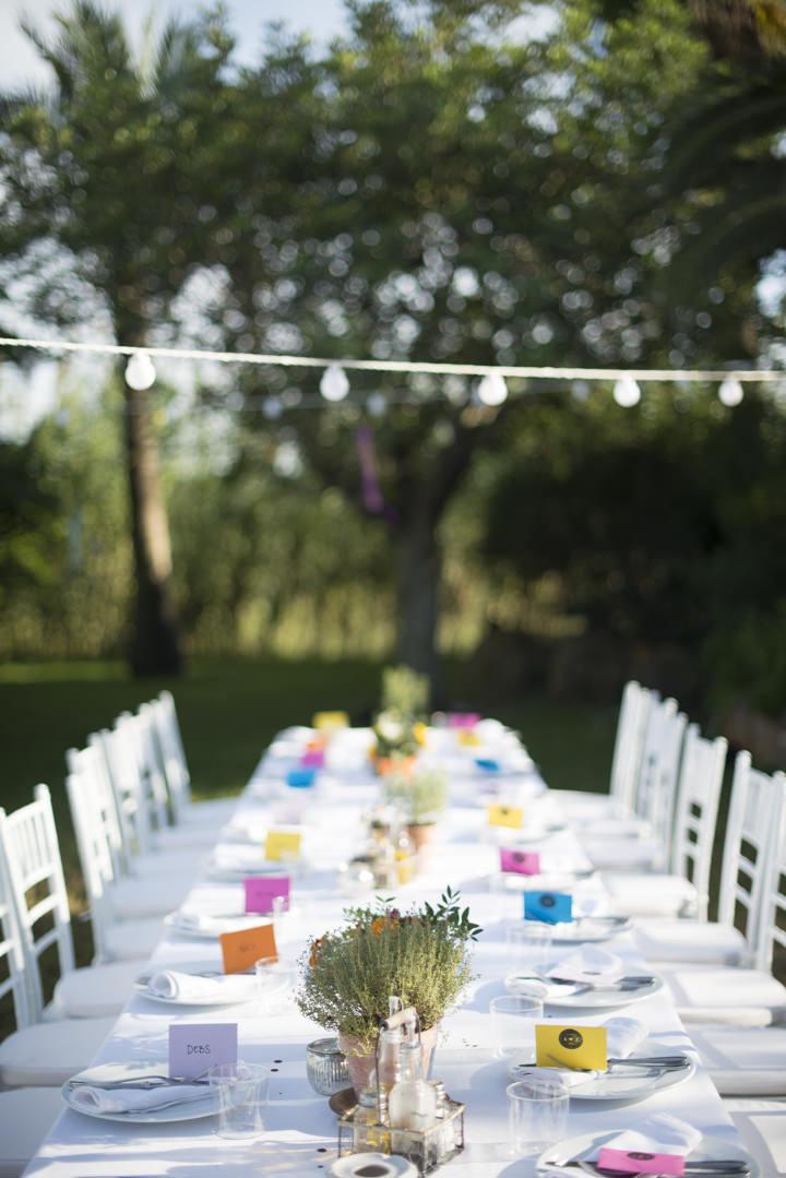 12 Ana & Prindy's Eccentric, Colourful, Ibiza Wedding. By Gypsy Westwood