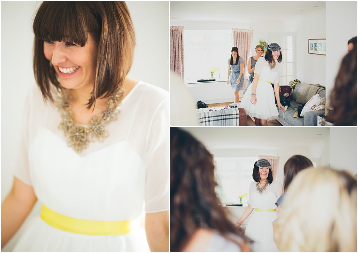 12 Daffodil Filled Wedding By Red on Blonde Photography