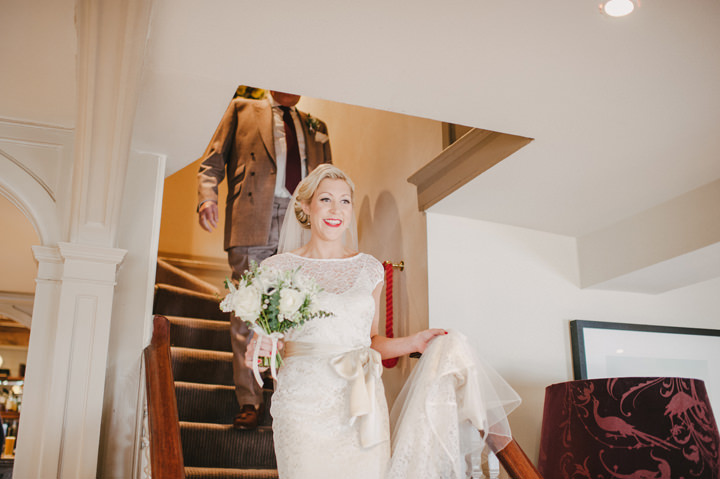 12 Zoe & Luke's 1940's Vintage Sussex Wedding. By Jacqui McSweeney