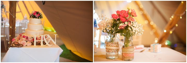 13 Nicola & Harry's Vintage Tipi Wedding. By SDS Photography