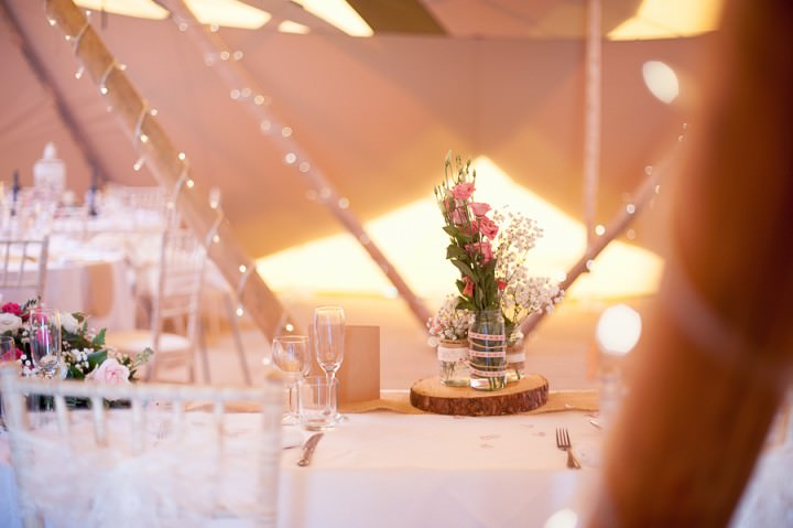 15 Nicola & Harry's Vintage Tipi Wedding. By SDS Photography
