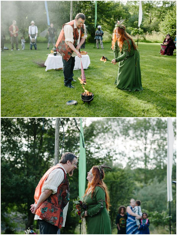 16 New Forest Handfasting. By Lemontree Photography