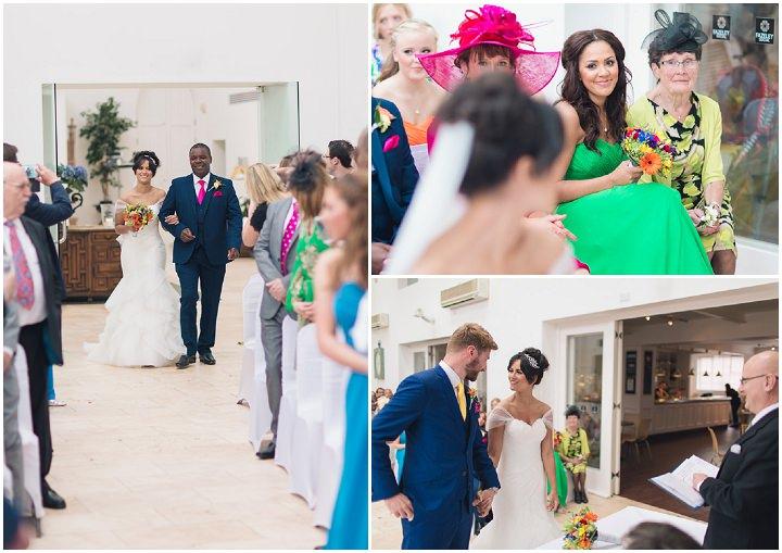 18 Danielle & Andy's Vibrant, Urban Wedding. By Murray Clarke
