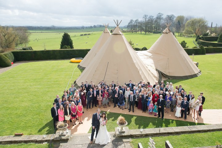 18 Nicola & Harry's Vintage Tipi Wedding. By SDS Photography