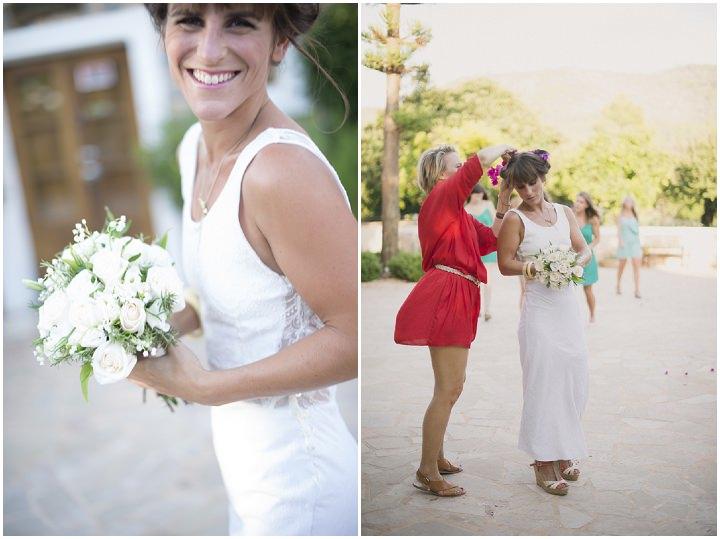 19 Ana & Prindy's Eccentric, Colourful, Ibiza Wedding. By Gypsy Westwood