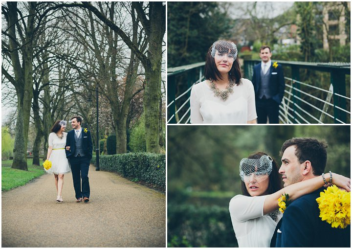 19 Daffodil Filled Wedding By Red on Blonde Photography
