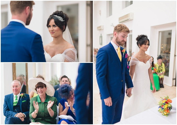 19 Danielle & Andy's Vibrant, Urban Wedding. By Murray Clarke