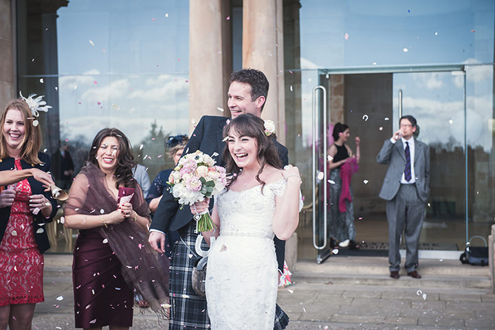 19 Lacy, Floral Dundee Wedding. By Green Wedding Photography
