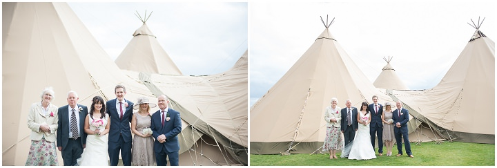 19 Nicola & Harry's Vintage Tipi Wedding. By SDS Photography