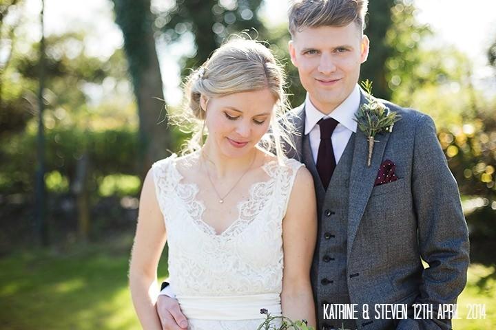 2 Katrine & Steven's Rustic Spring Wedding. By Jo Hastings.