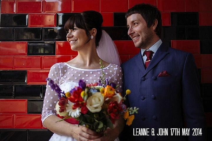 Leanne & John's Bold and Colourful Leeds Wedding. By Toast of Leeds