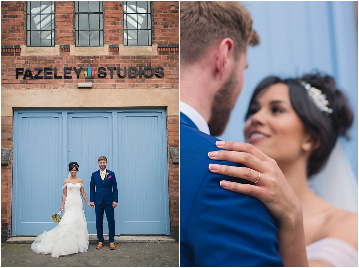 21 Danielle & Andy's Vibrant, Urban Wedding. By Murray Clarke