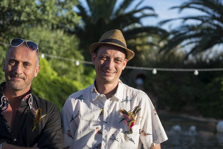 22 Ana & Prindy's Eccentric, Colourful, Ibiza Wedding. By Gypsy Westwood
