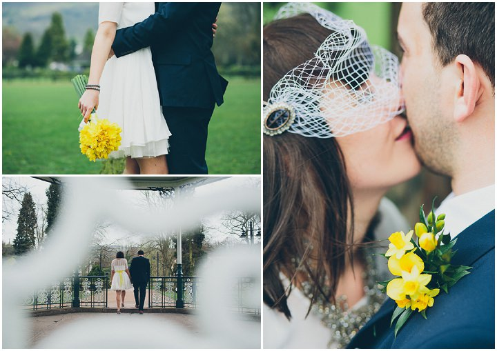 22 Daffodil Filled Wedding By Red On Blonde Photography