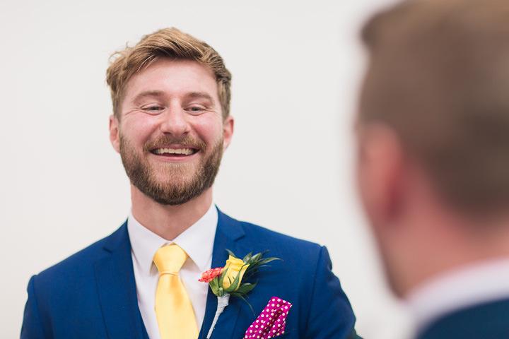 22 Danielle & Andy's Vibrant, Urban Wedding. By Murray Clarke