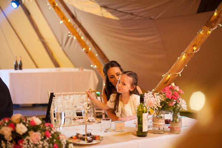 22 Nicola & Harry's Vintage Tipi Wedding. By SDS Photography