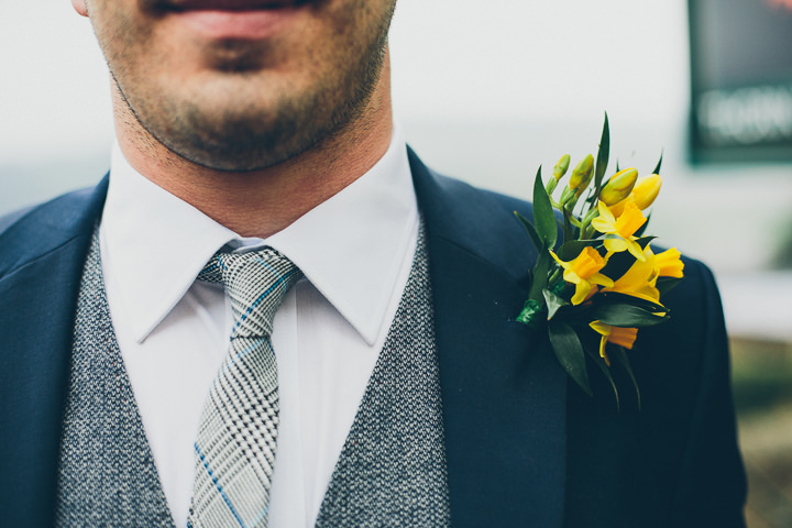 23 Daffodil Filled Wedding By Red on Blonde Photography