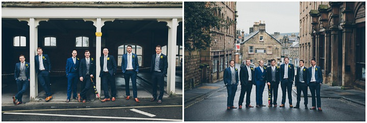 24 Daffodil Filled Wedding By Red on Blonde Photography