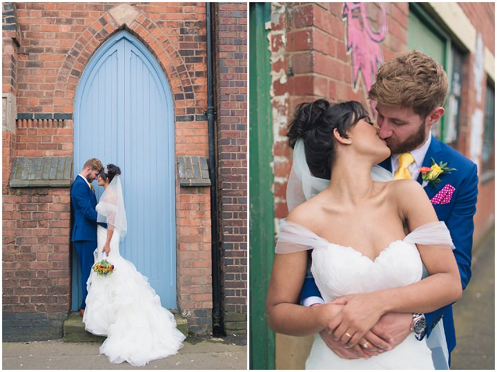 24 Danielle & Andy's Vibrant, Urban Wedding. By Murray Clarke