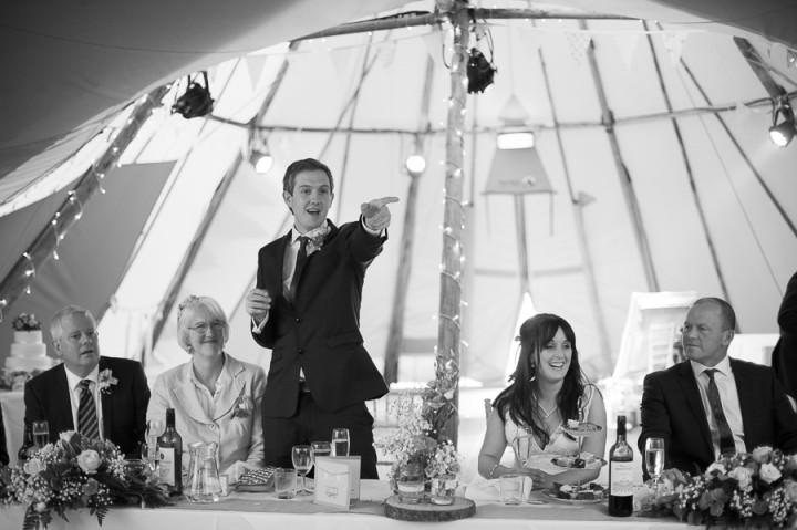 24 Nicola & Harry's Vintage Tipi Wedding. By SDS Photography