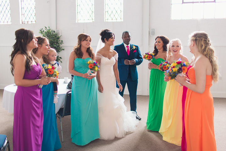 25 Danielle & Andy's Vibrant, Urban Wedding. By Murray Clarke