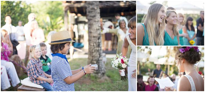 26 Ana & Prindy's Eccentric, Colourful, Ibiza Wedding. By Gypsy Westwood