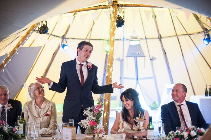 26 Nicola & Harry's Vintage Tipi Wedding. By SDS Photography