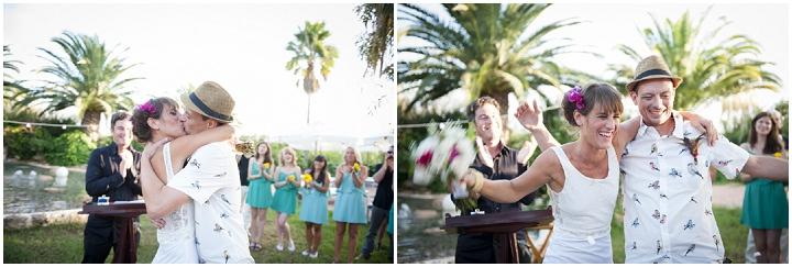 28 Ana & Prindy's Eccentric, Colourful, Ibiza Wedding. By Gypsy Westwood