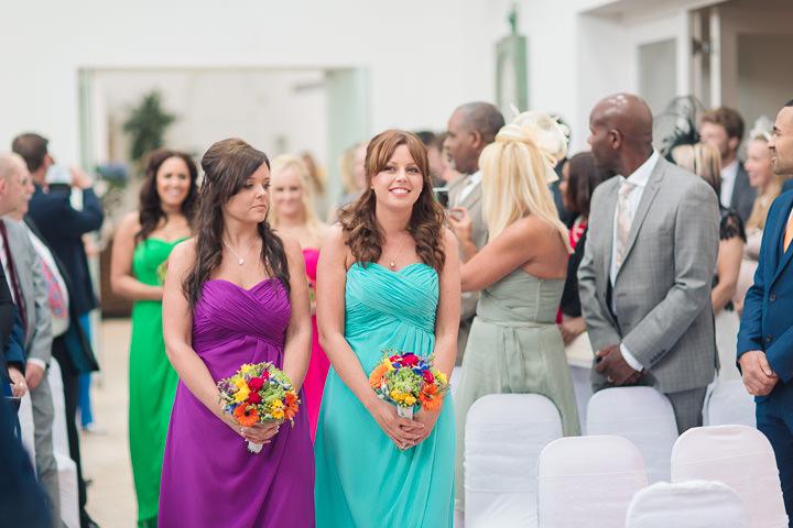 28 Danielle & Andy's Vibrant, Urban Wedding. By Murray Clarke