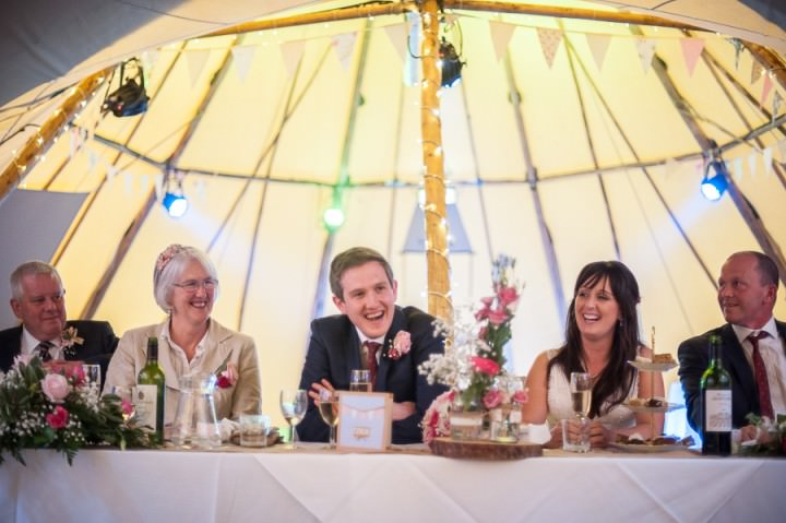 28 Nicola & Harry's Vintage Tipi Wedding. By SDS Photography