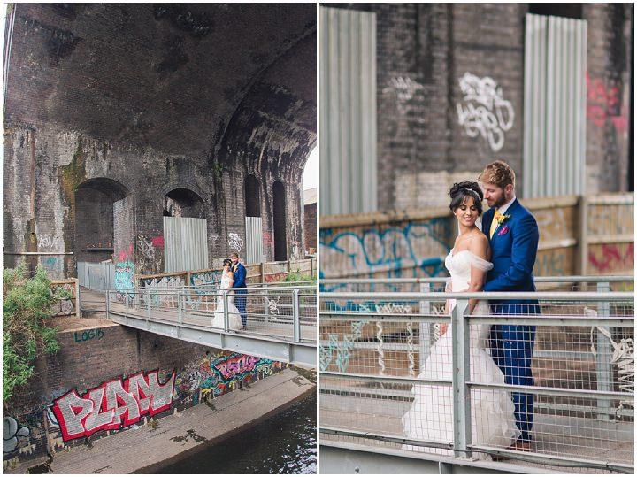 29 Danielle & Andy's Vibrant, Urban Wedding. By Murray Clarke