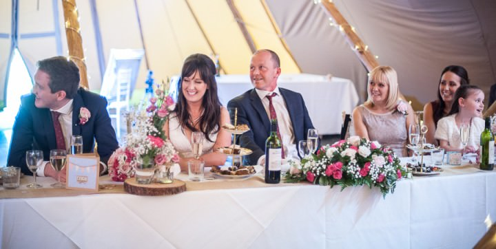 29 Nicola & Harry's Vintage Tipi Wedding. By SDS Photography