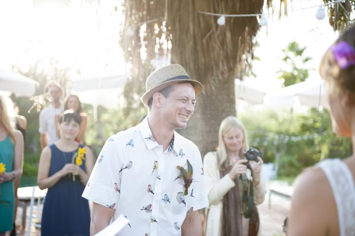 3 Ana & Prindy's Eccentric, Colourful, Ibiza Wedding. By Gypsy Westwood